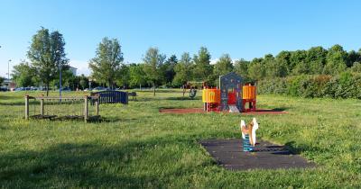 nuovo gioco parco primaria Felino 2021