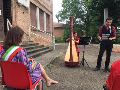 performance di Anellodebole per la commemorazione di Marco Pontirol Battisti